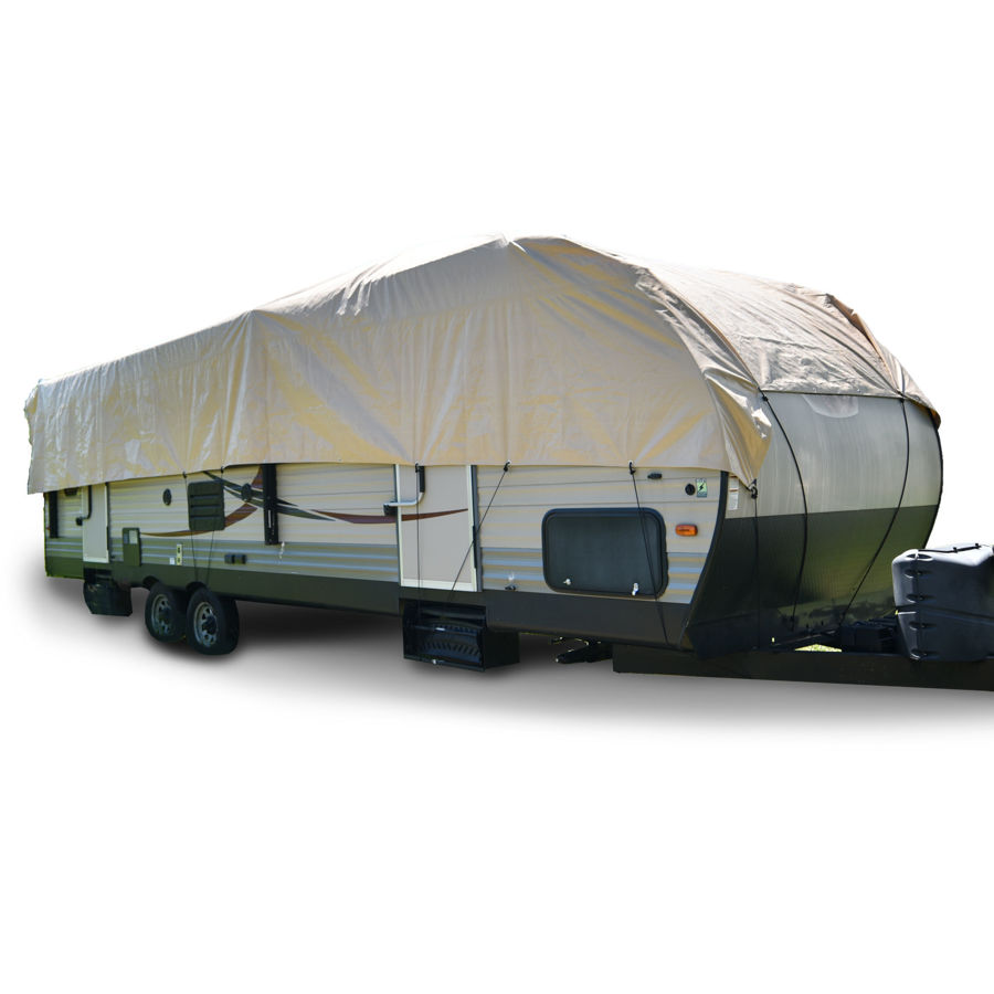 Picture of RV Trailer Rooftop Cover